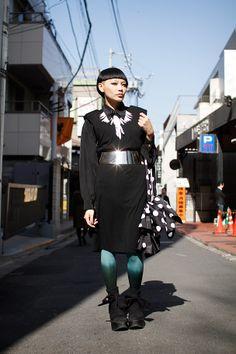 ストリートスナップ   Judy Chou   ファッション・ブロガー   原宿 (東京)