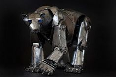5 Beautiful Steampunk Animal Sculptures By Andrew Chase   MeterDown