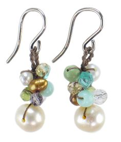 Ask me about this style earring, pearls and crystals, Jennine.