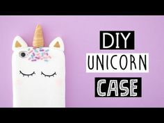 (42) DIY VIRAL UNICORN PHONE CASE! - YouTube