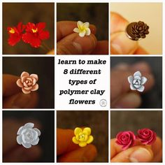 Polymer Clay Kunst, Polymer Clay Tools, Polymer Clay Miniatures, Polymer Clay Flowers, Polymer Clay Projects, Diy Clay, Polymer Clay Earrings, Polymer Clay Creations, Polymer Clay Sculptures