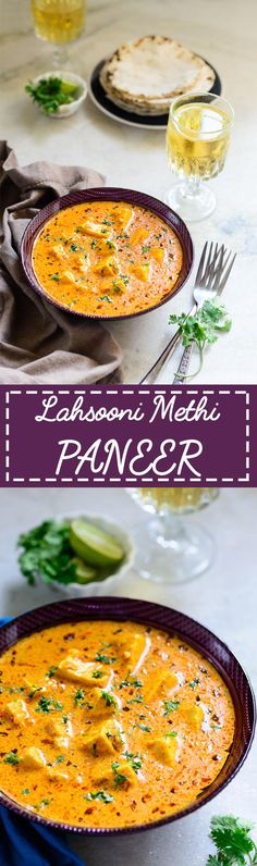 Lahsooni Methi Paneer. A delicious Garlicy Indian cottage curry. Food Photography and Styling by Neha Mathur
