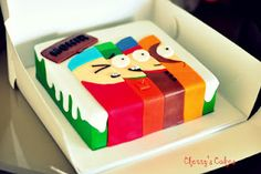 South Park Cake by Cherry's Cakes> I guess I should make this for Mikey J since this is his new obsession!