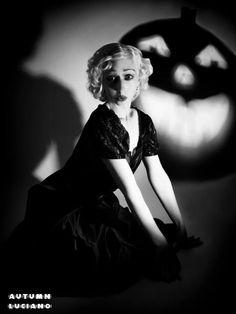 #vintage #pinup #halloween