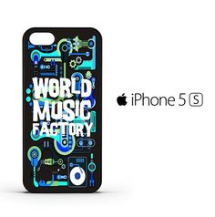 World music R0052 iPhone 5 | 5S | SE Case
