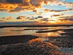 golden_wet_beach_sunset_cumbria
