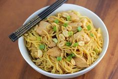 main entree pasta recipe : Charlie Chan Chicken Pasta Recipe