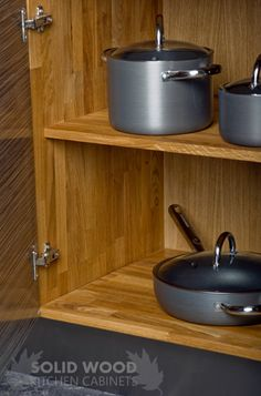 Our solid oak base cabinets are simply stunning. Manufactured from outstanding 18mm thick solid European oak, each unit is supplied fully sanded and lacquered, resulting in a smooth, hardwearing finish.  http://www.solidwoodkitchencabinets.co.uk/gbu0-display/base_cabinets.html