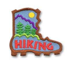 AHG Activity Patches: Hiking Patch