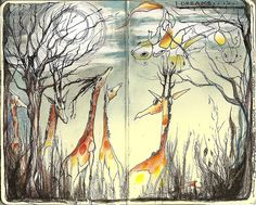 <3 Original pinner sez: dreams don't always make sense --- my entry - Racheal's book by Jennifer Kraska, via Flickr