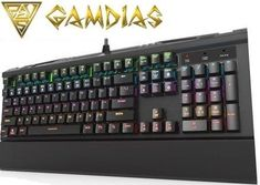Gamdias Hermes GKB3000 Mechanical Gaming - Wirendy Retail Box, Hermes, Gaming, Videogames, Games