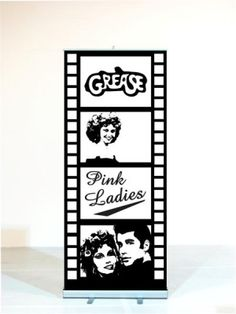 High quality Grease Pink Ladies Filmstrip available to hire. View Grease Pink Ladies Filmstrip details, dimensions and images. Grease Themed Parties, 50s Theme Parties, Grease Party, Grease Movie, Party Themes For Boys, Grease 2, 50th Party, 50th Birthday, Birthday Parties