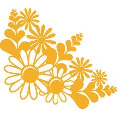 Fall Flowers SVG scrapbook cut file cute clipart files for silhouette cricut pazzles free svgs free svg cuts cute cut files Folk Art Flowers, Fall Flowers, Paper Flowers, Halloween Vinyl, Silhouette Design, Silhouette Cameo, Flower Svg, Cute Clipart, Scrapbook Templates