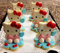 Hallo kitty cookies