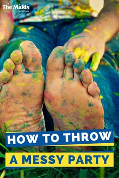 It may seem odd for a cleaning company to write a blog about how to throw a messy party, but hear us out. Sometimes making messes can be fun. Ready to roll up your sleeves? No? It doesn't matter. You're going to get dirty either way.