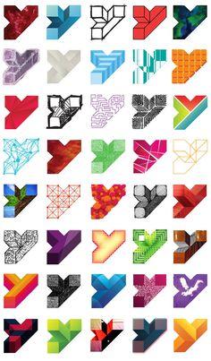 Youth Square Logo Alternatives #geometric #color