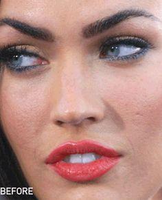 Celebrities voor & na Photoshop - Girlscene