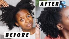 You want THE Best DIY curl cream without shea butter? Krazy Moisture Kokum Bomb Daily Moisturizer hair cream for type 4 hair. How To Grow Natural Hair, 4c Natural Hair, Soft Hair, Natural Hair Styles, Products For Damaged Hair, Natural Hair Moisturizer, Type 4 Hair, Moisturize Hair, Hair Transformation