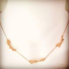 #isimlikolye #gümüşkolye #ailekolyesi Arrow Necklace, Gold Necklace, Jewelery, Personality, Jewlery, Gold Pendant Necklace, Jewels, Jewerly, Schmuck