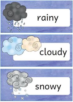 How is the weather today? Weather For Kids, Weather Like Today, Daily Weather, English Games, English Activities, Preschool Themes, Kindergarten Activities, Santo Angelo, Weather Worksheets