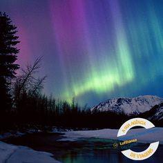 E quem não sonha em ver uma Aurora Boreal???