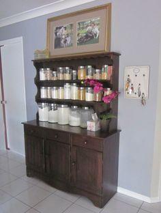 Seven Cherubs storage solution with jars