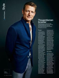 Philip Winchester Fans • blubberrobnob: Men's Fitness January 2016