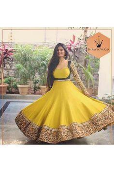 Best 11 Bandhini – House of Ayana – SkillOfKing. Long Gown Dress, Anarkali Dress, Saree Gown, Long Gowns, Kurti Designs Party Wear, Lehenga Designs, Salwar Designs, Indian Designer Outfits, Designer Gowns