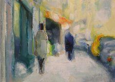 "Brian Cameron's Daily Paintings 'Urban Landscape' 18x24"" oil on panel briancameronart.com"