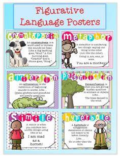 Figurative Language | Figurative, Language and Language arts