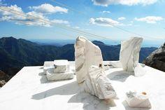 Calacatta Quarry, Carrara, Italy