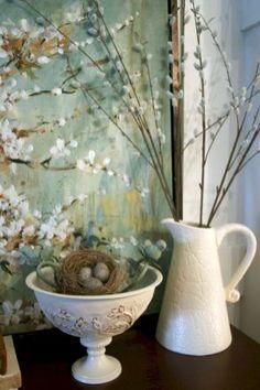 12 Stunning Spring Mantel Decorating Ideas On A Budget
