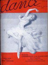 June 1936 vintage cover, Dance Magazine