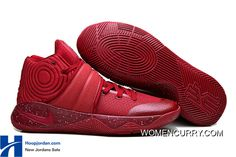 """the latest 860a6 ed55f """"Red Velvet"""" Nike Kyrie 2 Team Red Pure Platinium-Black Online, Price    88.79 - Women Stephen Curry Shoes Online"""