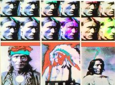 """Saatchi Art Artist Stephen Peace; Photography, """"Native American Collage - Limited Edition 1 of 1"""" #art"""