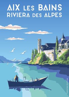 Illustrations Vintage, Ville France, French Riviera, City Art, Vintage Travel Posters, Poster Wall, Time Travel, Surfing, Vacation