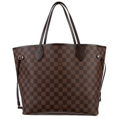 Pre-Owned LOUIS VUITTONNEVERFULL MM ($895) ❤ liked on Polyvore featuring bags, handbags, tote bags, bolsas, purses, louis vuitton, handbags totes, drawstring tote bags, coated canvas tote and louis vuitton tote bag