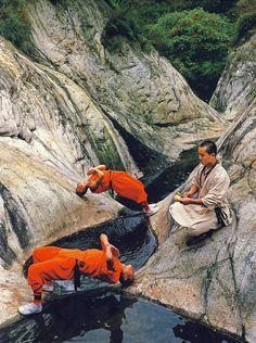 Kung Fu, Shaolin, China-Monks
