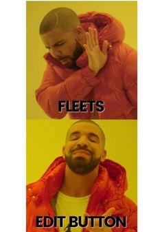 TWITTER edit button meme fleets Funny Memes About Work, Work Memes, About Twitter, New Twitter, Oh The Irony, Social Media Digital Marketing, Life Memes, Insta Story, Mom Blogs
