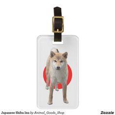 Japanese Shiba Inu トラベルバッグタグ