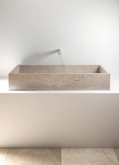 in Pietra Love the raw and pure material of this minimal counter top wash basin by Vaselli. Could go in a kitchen or bathroom.Love the raw and pure material of this minimal counter top wash basin by Vaselli. Could go in a kitchen or bathroom. Minimalist Bathroom, Modern Bathroom, Small Bathroom, Master Bathroom, White Bathroom, Bathroom Ideas, Colorful Bathroom, Bathroom Bin, Mosaic Bathroom