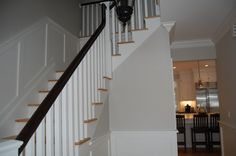 Trim for foyer, living room, hall and kids' bath