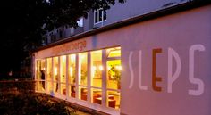 SLEPS Bed&Breakfast Augsburg This modern guest house offers bright, comfortable rooms and free Wi-Fi in the whole building. It lies in central Augsburg, just a 6-minute walk from the Old Town.  SLEPS Bed&Breakfast is located within the Jugendherberge Augsburg Youth Hostel.