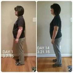 Julie saw results in 2 weeks on the Triplex!!  she shares I now wish I had started way before now. I am BLOWN AWAY!!!  I think the pictures speak for themselves!!! I feel better than I have in a very long time. Moving twice in one year, starting back to work full time and just living life as a wife and mom had caused me to develop some not so good eating habits. I have high cholesterol, high risk for heart disease and a family history of diabetes.  These products are changing lives!