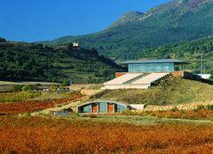Bai Gorri Winery Rioja Alavesa Wedding Week, Wedding Honeymoons, Spain Travel, Vineyard, To Go, Journey, Wineries, Mansions, House Styles