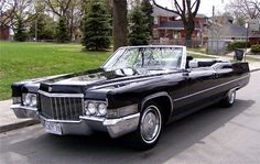 1969 Cadillac DeVille Convertible- every girl needs at least one Cadillac, I just want mine to be a convertible.