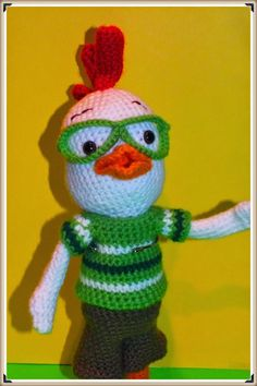 Connie's Spot© Crocheting, Crafting, Creating!: Free Crochet Chicken Little Doll Pattern©