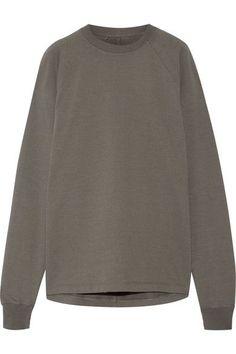 Rick Owens - Cotton-jersey Sweatshirt - Gray
