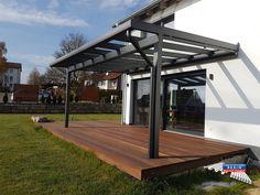 Terrassendach Aus Aluminium Mit Vsg Glas Kompl Neu ~ Best alu terrassenüberdachung rexopremium vsg glas kundenbilder