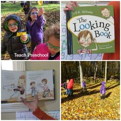 Going on a looking walk by Teach Preschooll - great activity to do during the fall